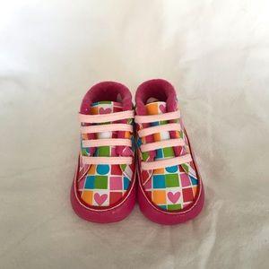 Agatha Ruiz De La Prada Baby High Top Baby Shoes